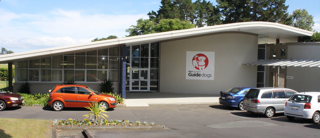 Guide dog breeding and training centre in south Auckland
